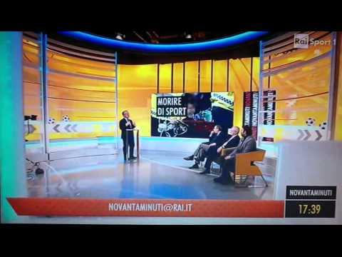 Il Prof. Francesco Fedele su RAI Sport 1