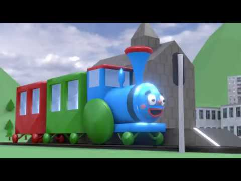 Паровозик УФ (3D-анимация)