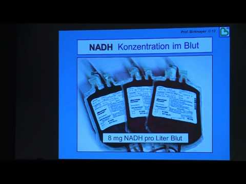 1/3: Prof. Dr. Dr. Jörg Birkmayer:  NADH (Coenzym-1) und seine positiven Wirkungen bei Krebs