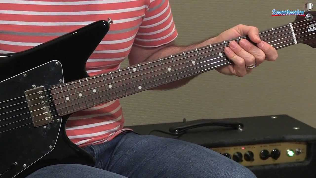 music man albert lee hh electric guitar demo sweetwater sound youtube [ 1280 x 720 Pixel ]