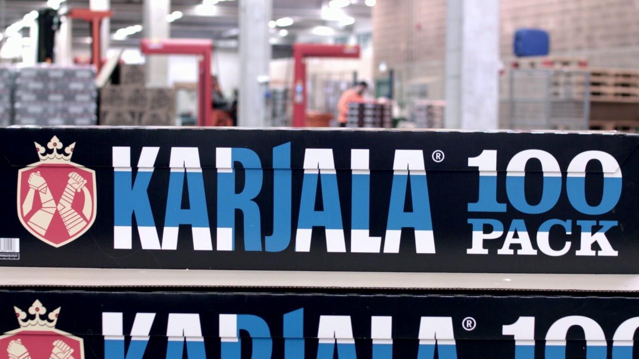 Karjala 100 Pack Myyntipaikat
