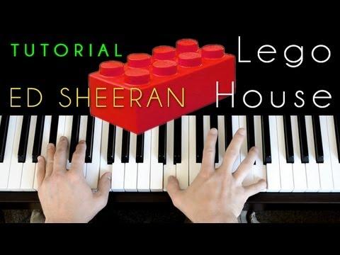 Ed Sheeran Lego House Piano Tutorial Cover Youtube