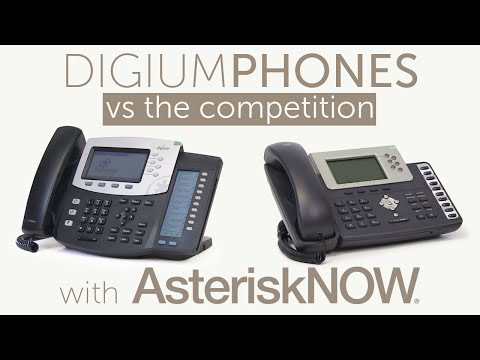 Digium D40, D45, D50, & D60 Phones vs The Competition | Asterisk Now