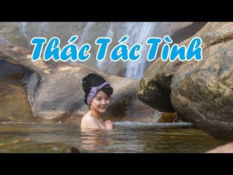 TẮM TIÊN cùng cô gái Thái xinh đẹp tại thác Tác Tình Lai Châu