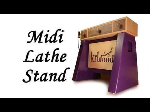 Build a Midi Lathe Stand