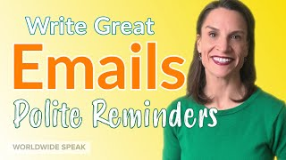 How to Write a Polite Reminder Email | Part 1 | Write Better in English screenshot 2