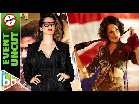 Kangana Ranaut At Special Screening Of Rangoon UNCUT | Nitesh Tiwari | Vidhu Vinod Chopra