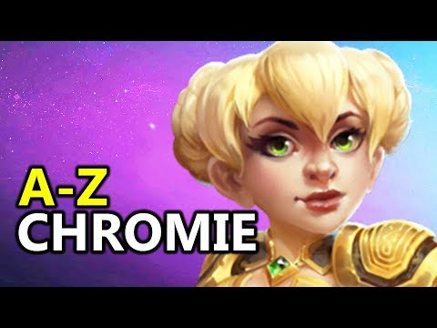 ♥ A  Z Chromie  Heroes of the Storm HotS Gameplay