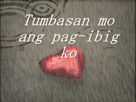 Nang Dahil Sa Pag Ibig Lyrics -- Tootsie Guevarra