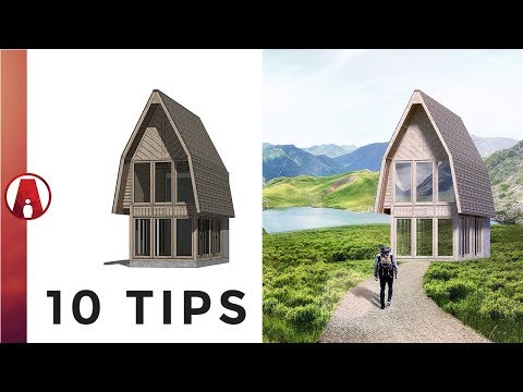 10 Tips For Architectural Renderings In Photoshop