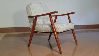 Mid Century Modern Danish Teak Chair Vixidesign.com