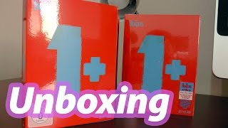 Unboxing The Beatles 1+ BD+ CD Deluxe Edition