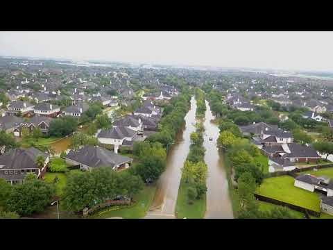 Flooding in Pearland, TX