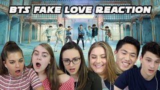 BTS FAKE LOVE REACTION (S3 EP.8)