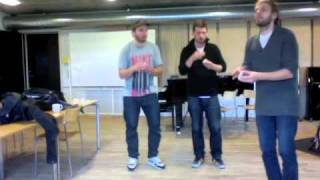Advanced Body Groovement Traffic jam - bodypercussion - matches