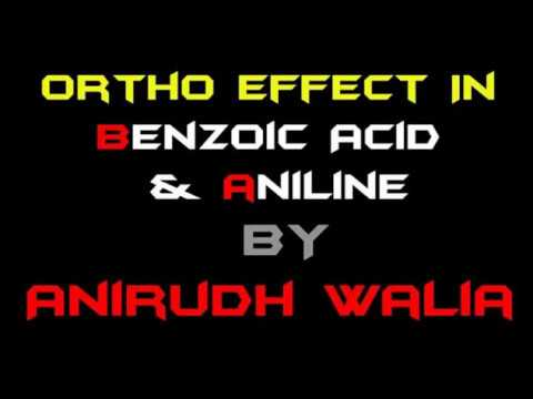 Ortho Effect in Benzoic Acid and in Aniline JEE Main || JEE Advanced || AIIMS || NEET