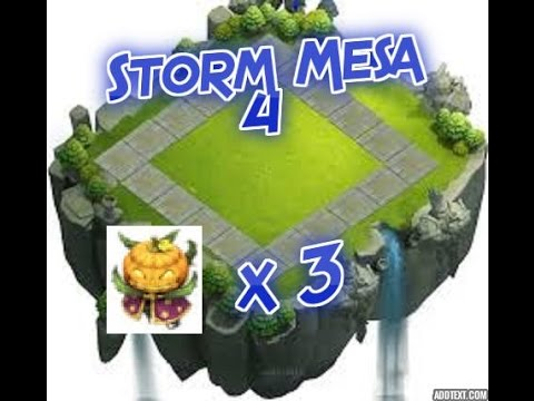 Castle Clash Storm Mesa 4 W/ 3 PD