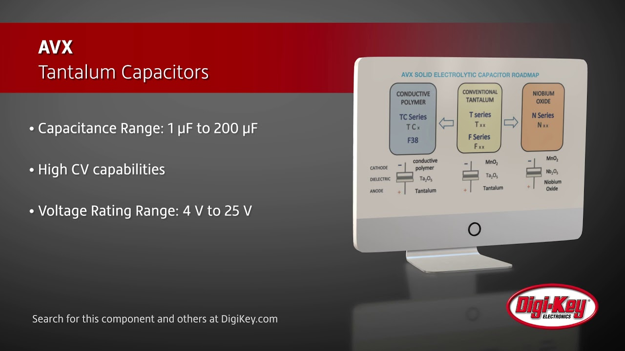 AVX Tantalum Capacitors | Digi-Key Daily