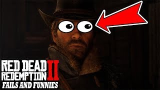 Red Dead Redemption 2/ONLINE - Fails & Funnies #29 (Random & Funny Moments)-SEIZURE