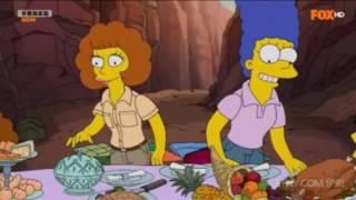 辛普森家庭 花枝吃肉