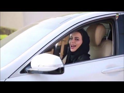 الحال مع قيادة المرأة 👌🏻😂
