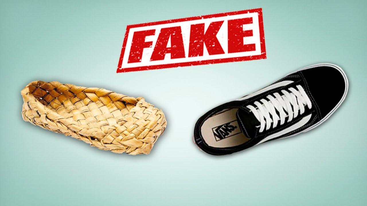 Кеды Vans Old Skool real vs fake. Как отличить подделку от оригинала  -  YouTube f6584fd4fd283