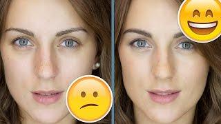 видео как сделать глаза больше без макияжа
