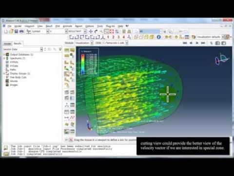 ABAQUS tutorial - Fluid Structure Interaction using Co-Simulation (1/2)