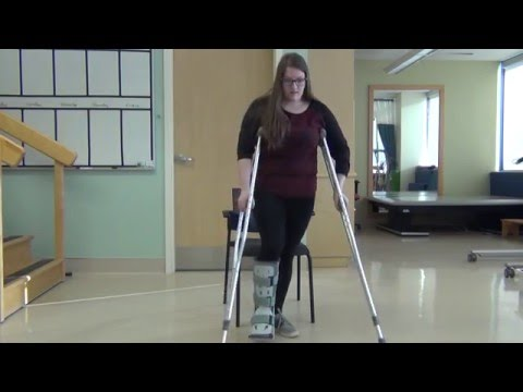 Crutch Walking - Non-Weight Bearing