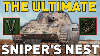 The ULTIMATE Sniper's Nest in World of Tanks!