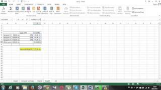 Урок 19 Проверка на формули в Excel 2013