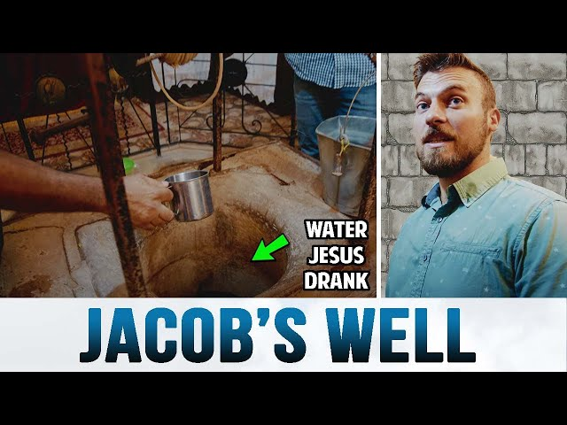 We Went to Jacob's Well in Shechem