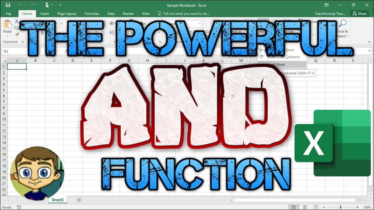 Using the Powerful and Function in Excel