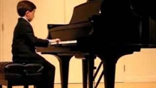 Ben Gottesman Piano - Sonatina in G - Moderato