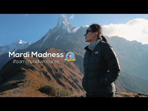 Sammy Adventures- Mardi Madness  Hike to Mardi Himal  Season 2- Episode 1