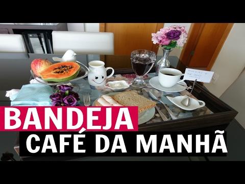 BANDEJA DE CAFÉ DA MANHÃ - VLOG12 | #FevereiroTodoDia