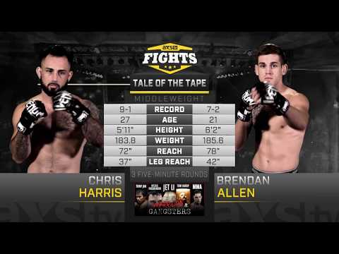 Fight of the Week: Brendan Allen & Chris Harris Battled in the CoMain Event of LFA 18