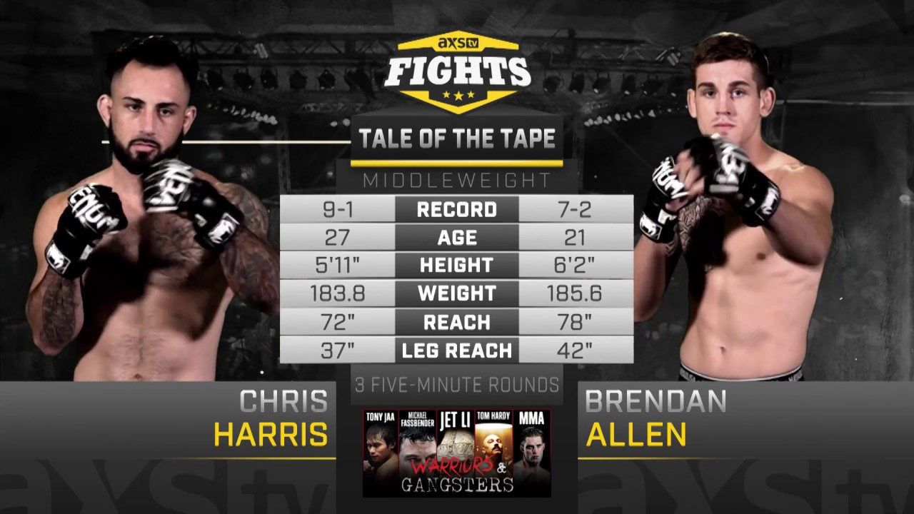 Download Fight of the Week: Brendan Allen & Chris Harris Battled in the Co-Main Event of LFA 18