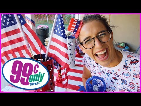 99 Cent Store 4th Of July Party!
