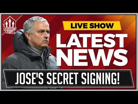 MOURINHO's Top Secret Transfer Target! MAN UTD News