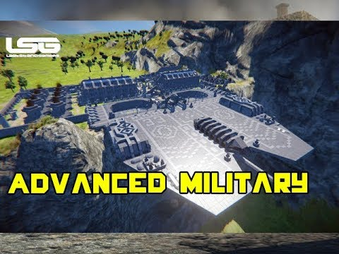 Outpost 33 Advanced Military Base - Space Engineers