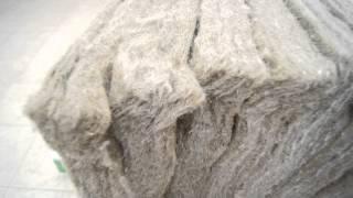 видео Льняной утеплитель экотеплин, термолён, экотерм в плитах