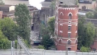 Вот так плюют в историю. МЕТРОВАГОНМАШ (Мытищи) ломает строения 1897 года постройки