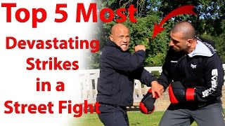 Top 5 Most Devastating Strikes in a Street Fight