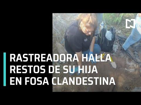 Rastreadora Nora Lira halla restos de su hija Fernanda Sañudo en fosa clandestina - En Punto