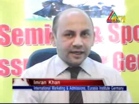 Study in Germany-Seminar conducted by Mr.Imran Khan, Eurasia Institute, Berlin at SSBCL office..flv