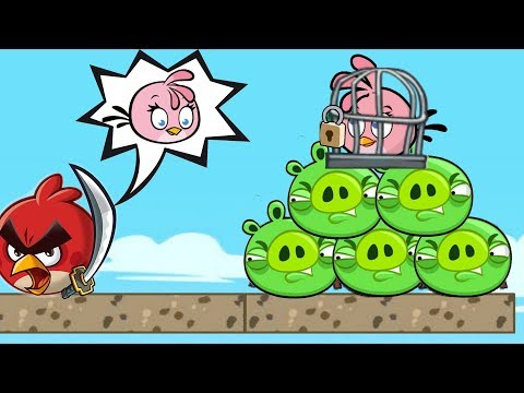 Angry Birds Heroic Rescue - PROTECT STELLA!! KICK ALL BAD PIGGIES!