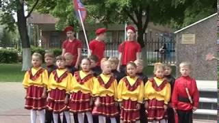 По городу прошел марш парад казачьих сотен «Взвейтесь, соколы, орлами»