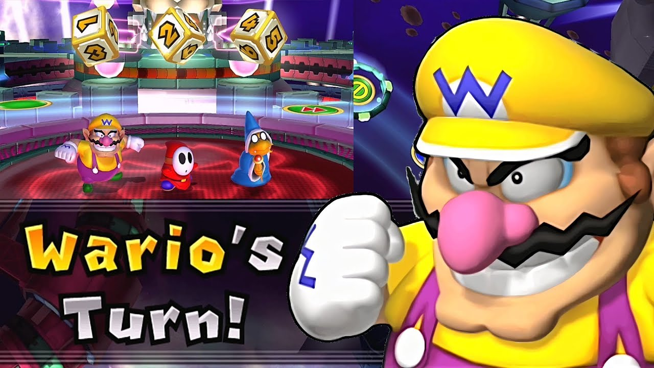 Mario Party 9 Solo Mode Wario Bowser Station Part 6 300 Youtube