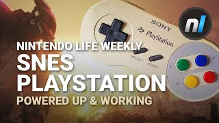 SNES PlayStation Prototype Powered Up & Working, Xenoblade Censorship | Nintendo Life Weekly